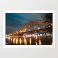 Big Mac Bridge  Art Print