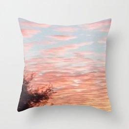Texas Hill Country Sky - Sunrise 4 Throw Pillow