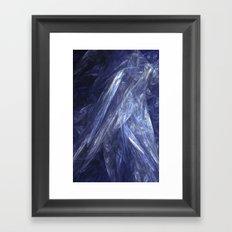 Gossamer Blue Framed Art Print
