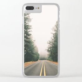 Follow the Road Clear iPhone Case