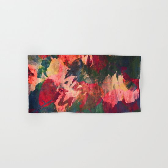 It's Complicated, Abstract Leaves Hand & Bath Towel