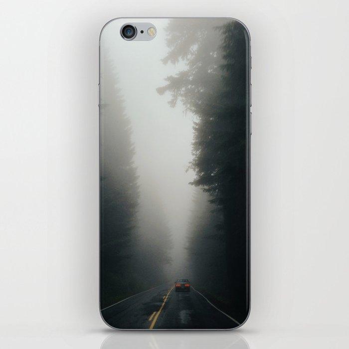 Dark Forest Driving iPhone Skin