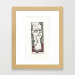 Swazi girl Framed Art Print