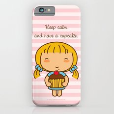 Keep calm and have a cupcake. Slim Case iPhone 6s