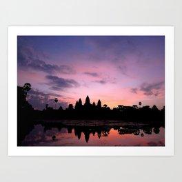 Ang Kor and the Sun Art Print