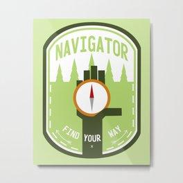 Navigator - Color Metal Print