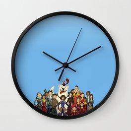 New Team Avatar Wall Clock