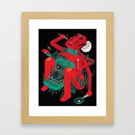 Super Kitchen Framed Art Print