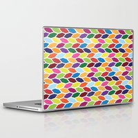 diamonds Laptop & iPad Skins featuring Diamonds by Wharton