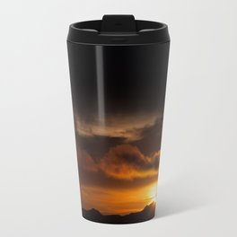 Orange Shades Travel Mug