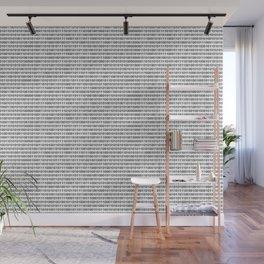 Binary Code Wall Mural