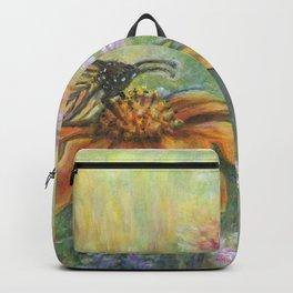 Butterfly Landing by Marianne Fadden Backpack