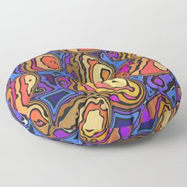 Colored Eggs Floor Pillow