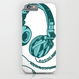 Headphone Headset Music Gaming Song Song Gift iPhone Case
