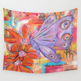 She is more than She knows... Wall Tapestry