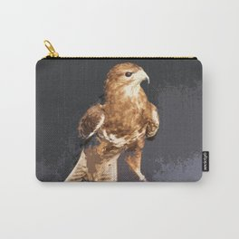 Bold Golden Eagle, Bird of Prey print Carry-All Pouch