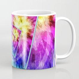 Spinning Tie Dye Abstract Coffee Mug