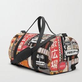 Tokyo Street Signs Duffle Bag