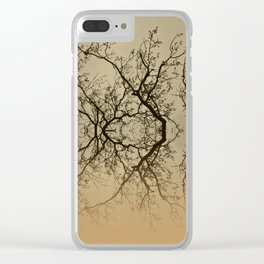 The Rorschach tree 9 version 2 Clear iPhone Case