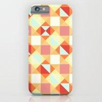 Autumn Breeze Triangle Pattern iPhone 6s Slim Case