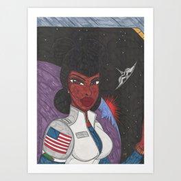 Stellar Queen Art Print