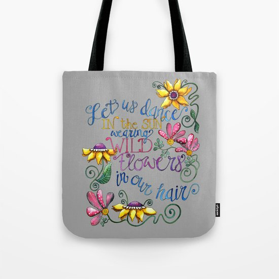 Let Us Dance Two Tote Bag