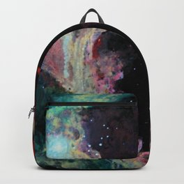 W5 Galaxy or the big heart of darkness Backpack