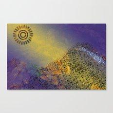 Mountain Series - Sunlight Canvas Print