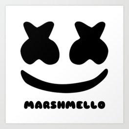 マシュメロの顔