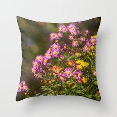 Plant A Flower Throw Pillow