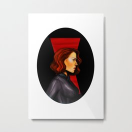 Widow Metal Print