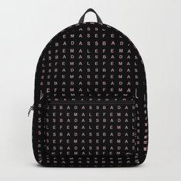 BADASS FEMALE Backpack