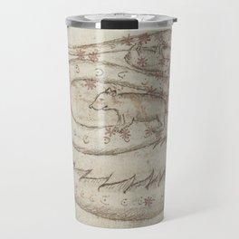 Basinio de Parma - Serpens, the Snake (1450s) Travel Mug