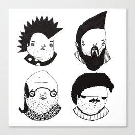 Busts 2° Part Canvas Print