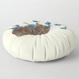 Wrens Wombat sleep Floor Pillow