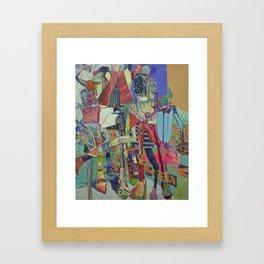 Concrete Jungle Love Framed Art Print