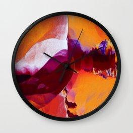 Ride the Heatwave Wall Clock