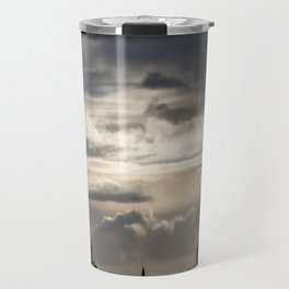 Cloudy Road Travel Mug
