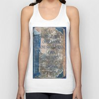 books Tank Tops featuring Books by Dora Birgis