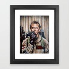 Bill Murray / Ghostbusters / Peter Venkman Framed Art Print