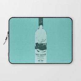 Grey Goose Blue Pop Art Laptop Sleeve