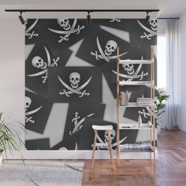 The Jolly Roger of Calico Jack Wall Mural