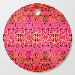 Pink Haze Bandana Ombre' Stripe Cutting Board