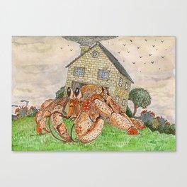 Hermit Apocalypse Canvas Print
