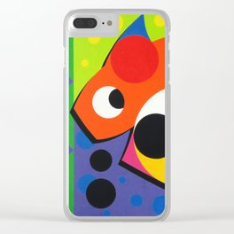 Fish - Paint Clear iPhone Case