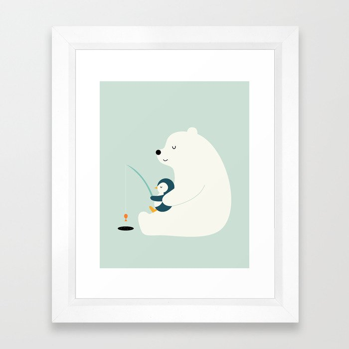 Buddy Framed Art Print