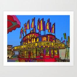 Fry City Fun Art Print