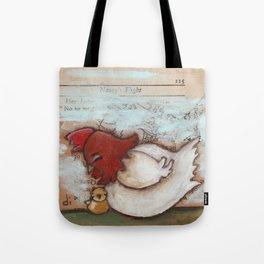 Cuddle Time - by Diane Duda Tote Bag