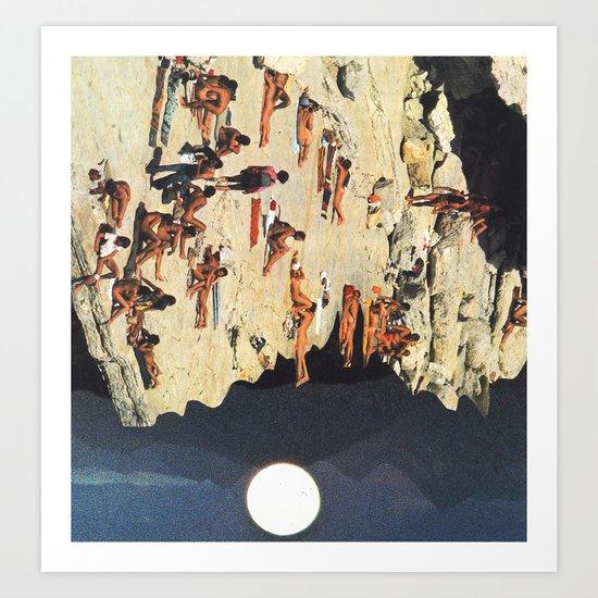 gravity zero Art Print