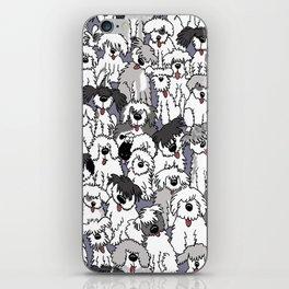 Original Sheepdogs On Watch iPhone Skin